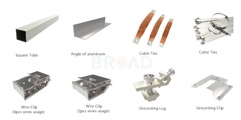 solar mounting system accessories